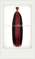 100% high quality remy human hair bulk
