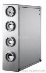 Stainless Steel Ice Cream Cup Holder Dispenser
