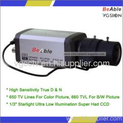 HybridWDR Starlight CCD Illumination High Standard Box Camera