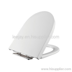 Soft close toilet seat cover for western toilet