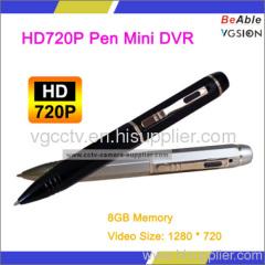 HD720P Pen Mini DVR