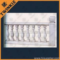 stone white marble balustrade