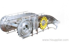 Upper-part Assembled Drive For Escalator
