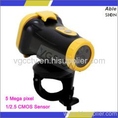 New Design Waterproof 1080P Sport Camera Built With
