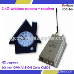 2.4G wrieless camera receiver