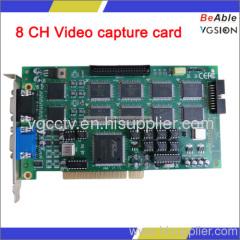 8 CH Video capture card