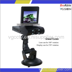 Double Camera Day & Night Vehicle Dvr