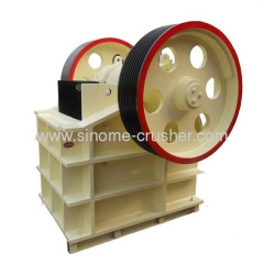 PE series stone jaw crusher PES600*900