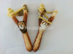 2013 wooden carved slingshot