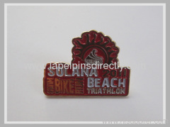 Embossed Soft Enamel Lapel Pins
