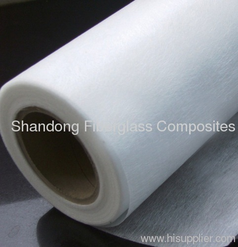 Glass fiber wet-laid mat