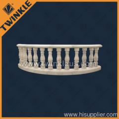 ourdoor white stone balustrade