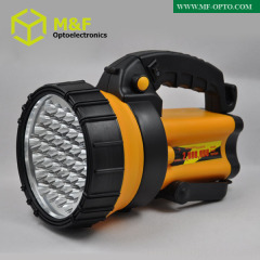 high power rechargeable 37leds high power led spotlight