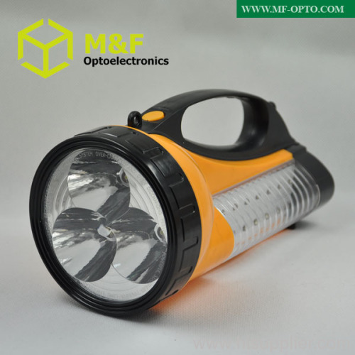 Portable led rechargeable searchlight