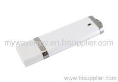 bulk 1GB white plastick usb flash