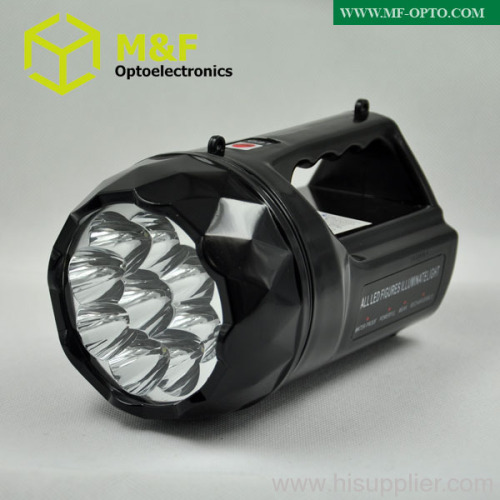 Portable rechargeable led searchlight