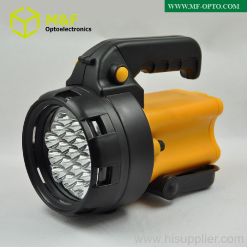 rechargeable battery 19leds handheld rechargeable led spotli