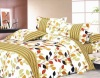 100% Polyester Microfiber Printed Bedding Set