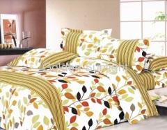 100% Polyester Microfiber Printed Bedding Set