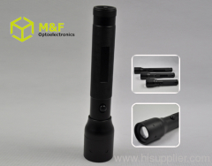 multifunction Aluminium 3w led flashlight