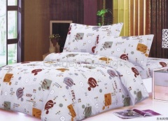 cheap 100% Polyester MicrofiberPrinted Bedding Set/Sets