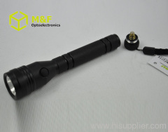 portable 1w led aluminium flashlight