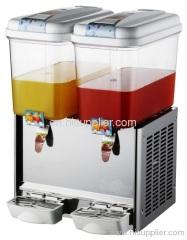 Double tanks fountain drinks machine