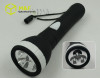 large size plastic 3leds D battery flashlight