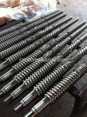 Parallel Twin Screw Barrel for Twin Screw Extruder