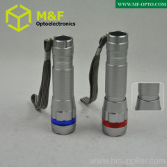 high power mini zoom flashlight