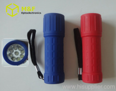 mini led abs flashlight
