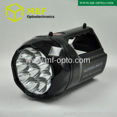 9LED outdoor portable searchlight