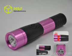 rechargeable light flashlight multifunctional promotion gift