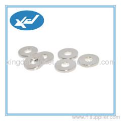 N45 sintered NdFeB magnet ring shape NiCuNi coating