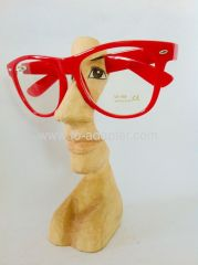 Beatiful woman face carved Wooden Eyeglasses holder