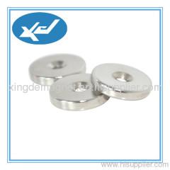 N48 NdFeB permanent ring magnet Ni coating or ZN coating