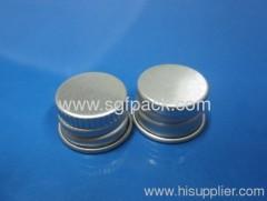 24410 cap aluminum lid top cap cosmatic package aluminum container