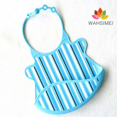 Easy Washable Cute Silicon Baby Bibs