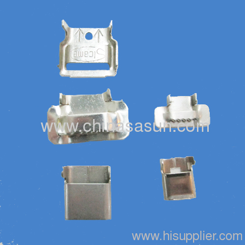 stainless steel wing seal buckle