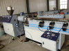PE single wall corrugation pipe production line