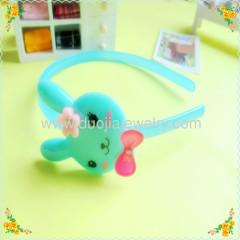 FG130306 Rabbit Plastic Children Hairband