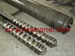 twin PVC screw cylinder