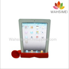 Silicone ipad horn stand