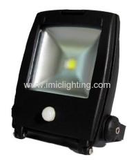 Aluminium 10W COB sensor LED Flood Light