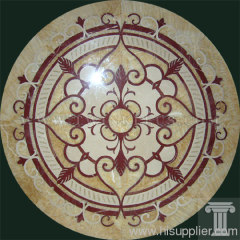 floor paving stone medallion