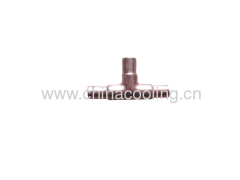 copper tee fitting Chinese factory