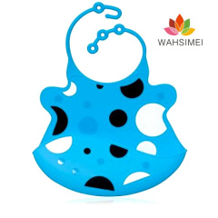 silicone waterproof drool bibs for baby