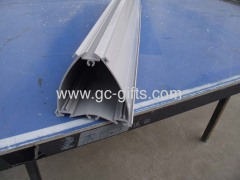 PVC triangle profile for supermarket use by extrusion