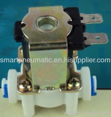 plastic water solenoid valve normally open or closed
