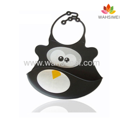 Fashion silicone baby bib